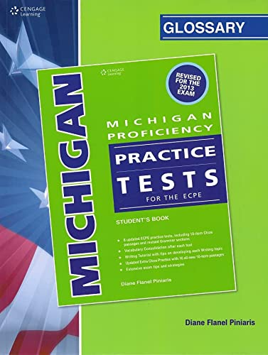 9781408092668: Michigan Proficiency ECPE Practice Tests Student Book & Glossary Pack