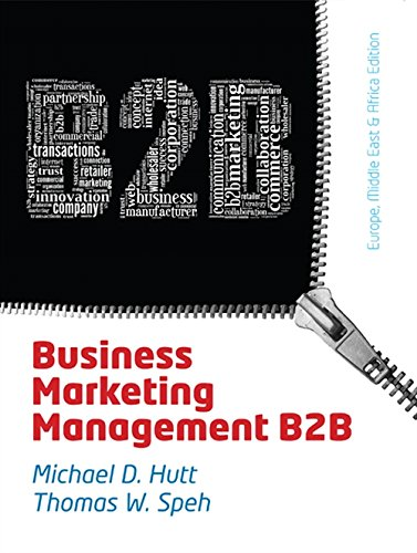 9781408093719: Business Marketing Management: B2B