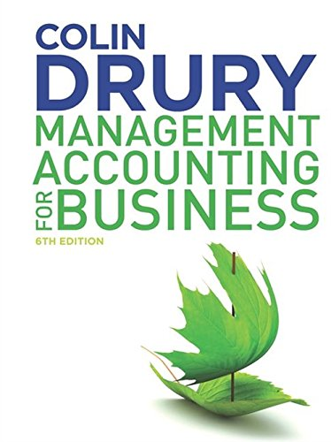 9781408093818: Management Accounting for Business