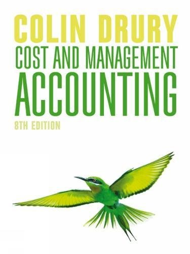 9781408093887: Cost and Management Accounting