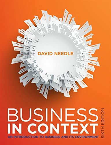9781408095218: Business in Context