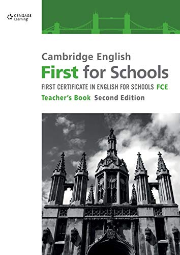 9781408096017: Cambridge English First for Schools Teacher's Book