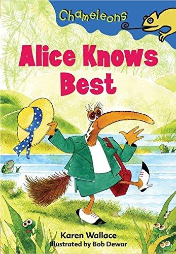 9781408100899: Alice Knows Best (Chameleons)