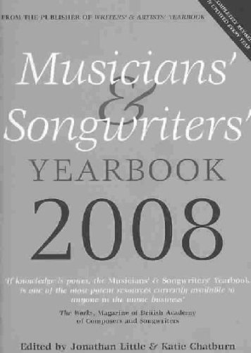 Musicians' and Songwriters' Yearbook 2009 (1408104695) by Little, Jonathan; Chatburn, Katie
