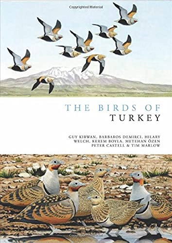 9781408104750: The Birds of Turkey (Helm Field Guides)