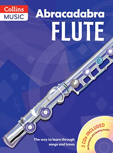 9781408105276: Abracadabra Flute (Pupils' Book + 2 CDs): The way to learn through songs and tunes (Abracadabra Woodwind)