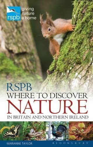 9781408108642: RSPB Where to Discover Nature: In Britain and Northern Ireland