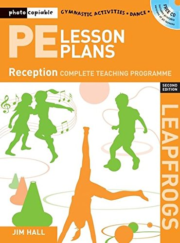 9781408109908: PE Lesson Plans Year R: Photocopiable Gymnastic Activities, Dance and Games Teaching Programmes (Leapfrogs)