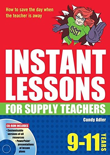 9781408111598: Instant Lessons for Supply Teachers 9-11