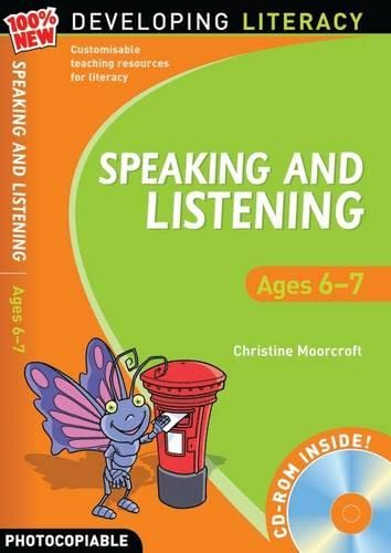 9781408113165: Speaking and Listening: Ages 6-7 (100% New Developing Literacy)