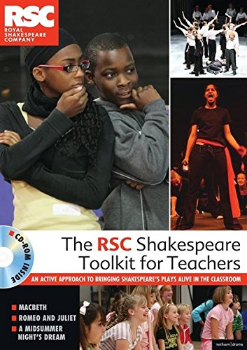 9781408114285: The RSC Shakespeare Toolkit for Teachers: An Active Approach to Bringing Shakespeare's Plays Alive in the Classroom with DVD