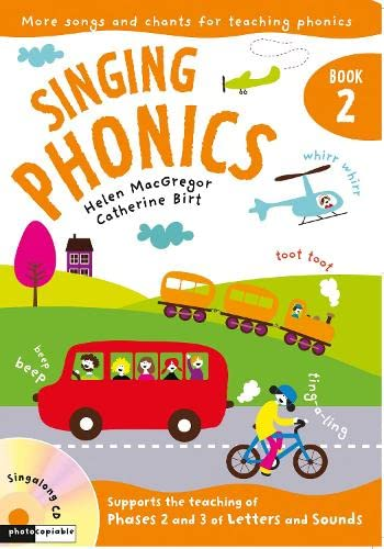 9781408114513: Singing Phonics: Book 2: Songs and Chants for Teaching Phonics