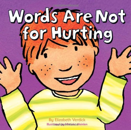 9781408115077: Words are Not for Hurting