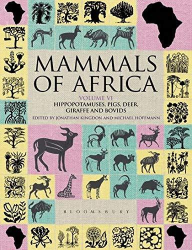 9781408122563: Mammals of Africa Volume 6