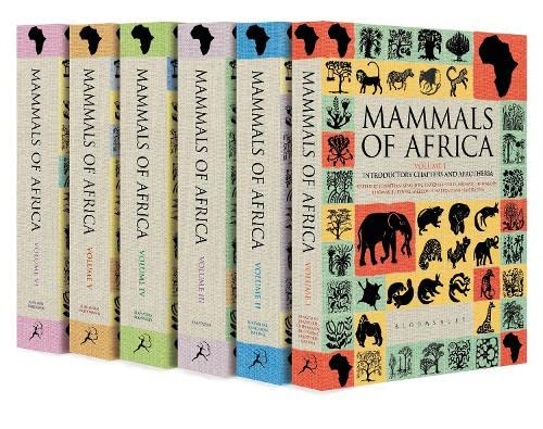 Mammals of Africa: Volumes I-VI (Mixed media: Jonathan Kingdon, David