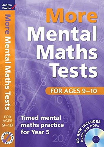 9781408124062: More Mental Maths Tests for Ages 9-10: Timed Mental Maths Practice for Year 5