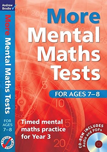 9781408124079: More Mental Maths Tests for ages 7-8