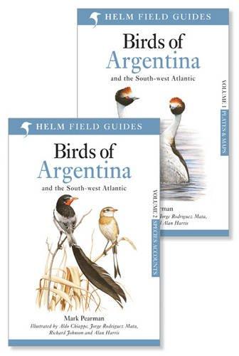 9781408125175: Birds of Argentina: v. 1-2 (Helm Field Guides)