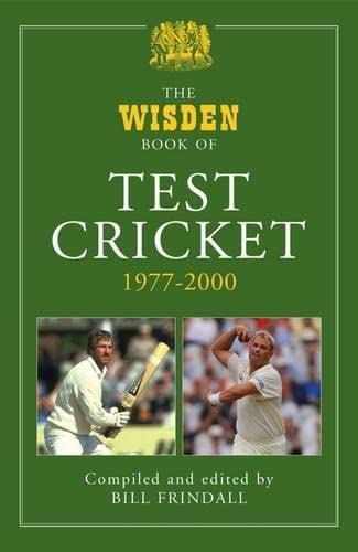 The Wisden Book of Test Cricket, 1977-2000: Volume 2 (Hardback)