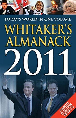 Whitaker's Almanack: 2011 (143rd Revised edition): Joseph Whitaker