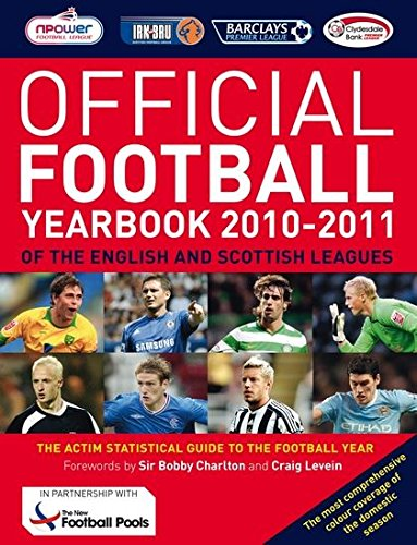 9781408129159: The Official Football Yearbook of the English and Scottish Leagues 2010-2011
