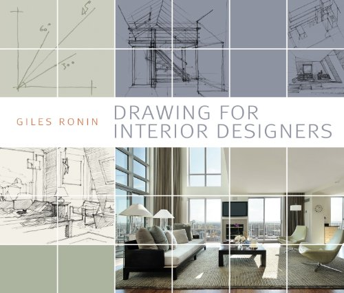 9781408129913: Drawing for Interior Designers