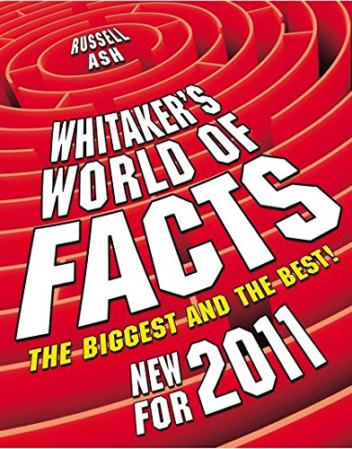 9781408130070: Whitaker's World of Facts 2011
