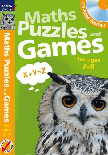 9781408134634: Maths Puzzles and Games. 7-9