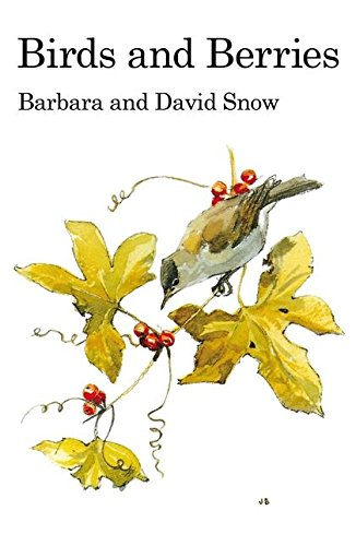 9781408138212: Birds and Berries (Poyser Monographs)