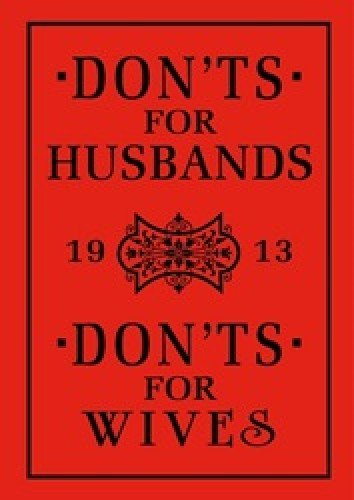 9781408140437: Donts for Husbands Wives