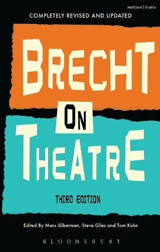 9781408145456: Brecht On Theatre