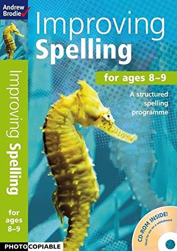 9781408151341: Improving Spelling 8-9 (Improving Comprehension)