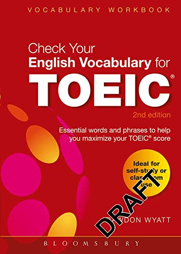 9781408153918: Check Your English Vocabulary for TOEIC: Essential words and phrases to help you maximize your TOEIC score (Check Your Vocabulary)