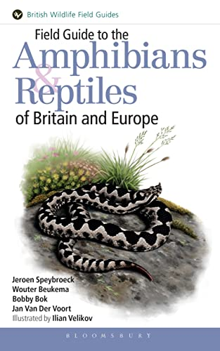 9781408154595: Field Guide to the Amphibians and Reptiles of Britain and Europe (Helm Field Guides)