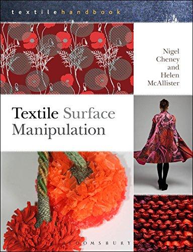 9781408156704: Textile Surface Manipulation (Textiles Handbooks)