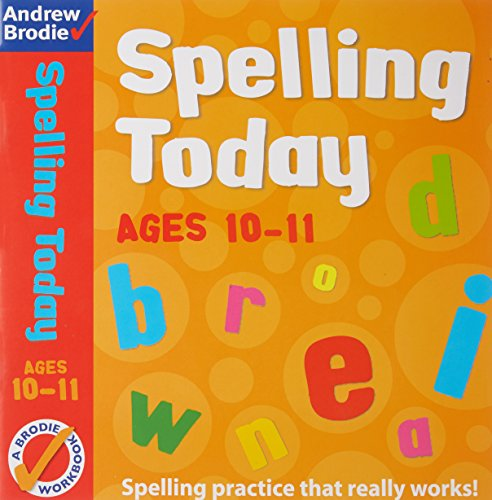 9781408162606: Spelling Today for Ages 10-11 Indian edition