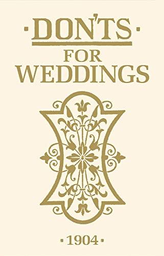 9781408170847: Don'ts for Weddings