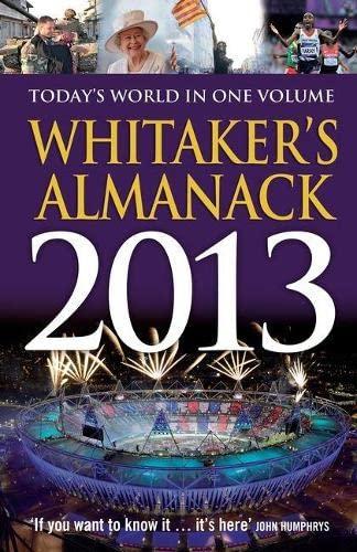 9781408172070: Whitaker's Almanack 2013