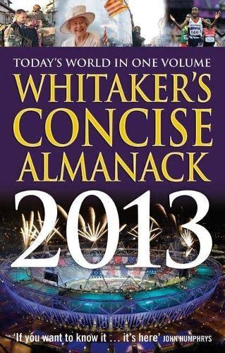 Whitaker's Concise Almanack 2013: Whitaker's