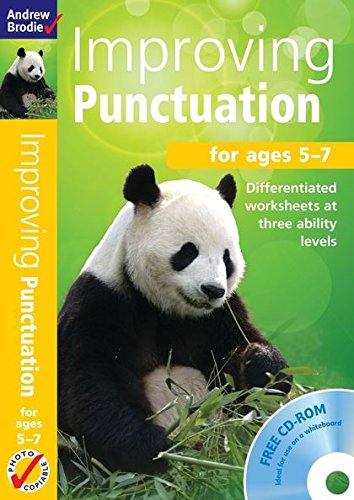 Improving Punctuation 5-7: For ages 5-7 (Book: Brodie, Andrew