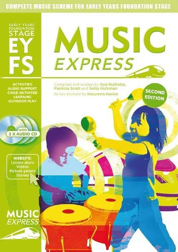 9781408187074: Music Express – Music Express Early Years Foundation Stage: Complete music scheme for Early Years Foundation Stage - second edition