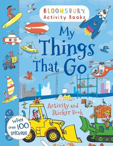 9781408190067: My Things That Go! Activity and Sticker Book (Activity Books for Boys)
