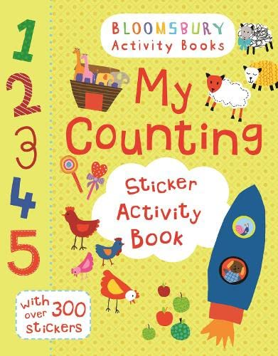 9781408190128: My Counting Sticker Activity Book (Maths Activity Books)