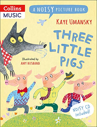 9781408192412: Three Little Pigs: A Noisy Picture Book (Noisy Picture Books)