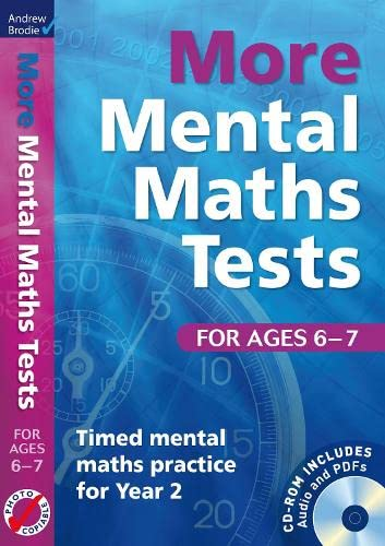 9781408192436: More Mental Maths Tests for Ages 6-7