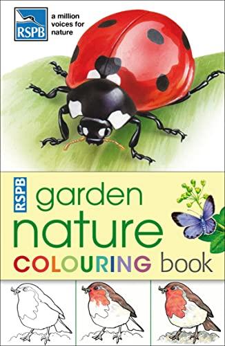 RSPB Garden Nature Colouring Book: .