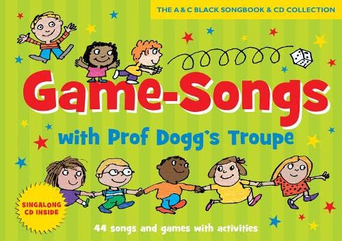 9781408194430: Game-songs with Prof Dogg's Troupe (Book + CD) new cover: 44 Songs and Games with Activities (Songbooks)