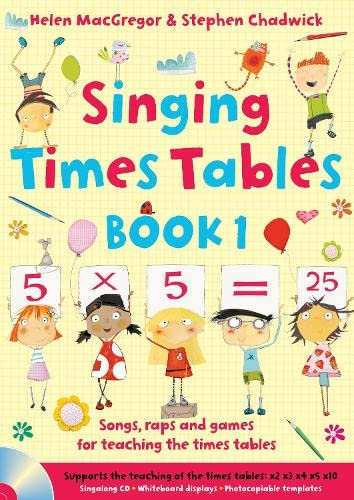 """Singing Subjects â€Â"""" Singing Times Tables Book 1: Songs, raps and ..."""