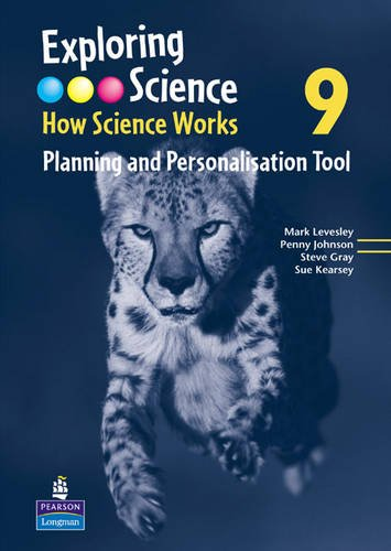 Exploring Science : How Science Works Year 9 Planning and Personalisation Tool (EXPLORING SCIENCE 2...