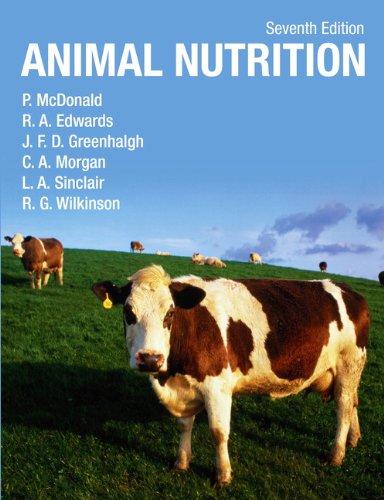 9781408204238: Animal Nutrition. by Peter McDonald ... [Et Al.]